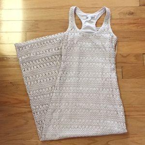 Lauren Conrad crochet maxi dress! Size XS